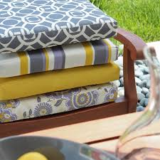 Replacement Patio Cushions Dining Room Attractive And Comfortable Chair Cushion Make Your