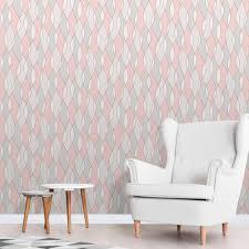 fine decor apex wave pink wallpaper fd42172