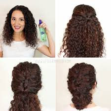 7 easy hairstyles for curly hair u2013 weekly change ups with garnier