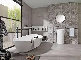 interieur salle de bain moderne chambre salle de bain carreau ciment personnalisez votre