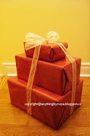 How To Wrap Gifts - maya u0027s blog 3 ways to wrap your gifts