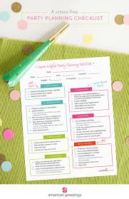 printable party planner checklist a stress free party planning checklist and a free printable