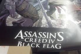 Assassins Black Flag Pirate Themed Assassin U0027s Creed 4 Black Flag Poster Leaks Games