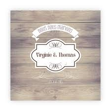 faire part mariage discount faire part mariage pas cher vintage bois n19c201 faire part