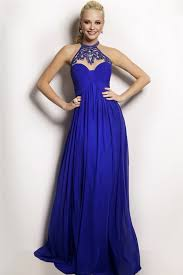 different royal blue long dresses for evening parties for