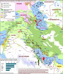 Middle Eastern Map A Petro Sectarian Map Of The Middle East Zero Hedge