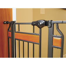 Home Accents by Regalo Home Accents Extra Tall Walk Thru Gate Hardwood And Steel