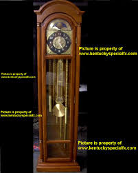 our six foot tall animatronic 13th hour grandfather clock