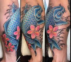 125 koi fish tattoos with meaning ranked by popularity