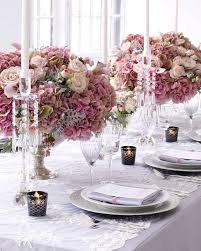 dusty rose table runner we love the beauty of bridal lace in wedding design evantine