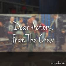 stagehand resume examples dear actors from the crew kerry hishon