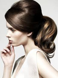 by hairstyle retro and romantic 60s ponytail hairspiration pinterest