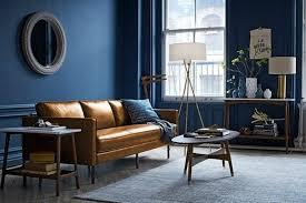 peinture cuir canapé couleur peinture salon conseils et 90 photos pour vous inspirer