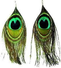peacock feather earrings s funky peacock feather earrings fashion jewellery uk