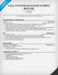 Call Center Supervisor Job Description Resume by Curriculum Vitae Sample Call Center Agent Call Center Resume