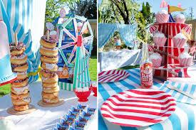 carnival birthday party carnival birthday party via blossom