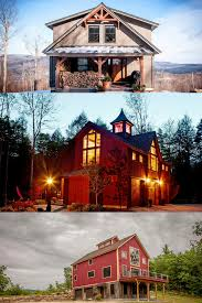 houses and their floor plans post and beam projects small barns barn and house