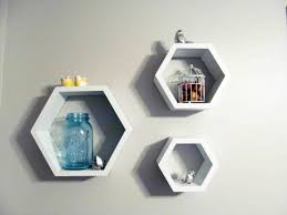 Hanging Wall Shelves Woodworking Plan by Hexagon Shelves U2013 A Smith Of All Trades