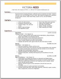 waiter sample resume food handler card resume resume server examples testing objective restaurant resume example cashier resume sample job and template