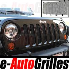Rugged Ridge Grille Inserts Jeep Jk 07 17 Jeep Jk Wrangler Black Bug Screen Stainless Steel Wire Mesh