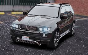 matte bmw x5 bmw x5 e53 2005 sport package add on replace gta5 mods com