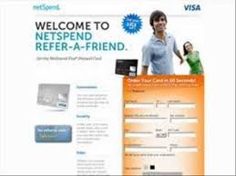 mastercard prepaid debit card netspend mastercard prepaid debit card 20 00 per referral
