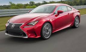 2015 red lexus is 250 2015 lexus rc350 coupe first drive u2013 review u2013 car and driver