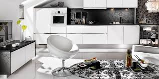 Kitchen Design Magazine Black And White Kitchen Design Ideas By Mobalpa Interior Design