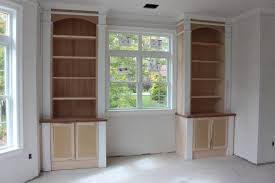Builtin Bookshelves by Built In Bookcases Custom Home Finish