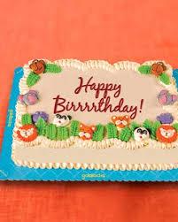 jungle safari themed greeting cake