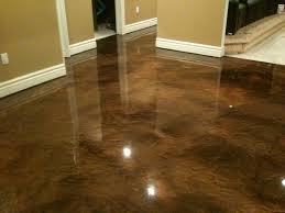 metallic reflector epoxy flooring in ventura county santa barbara