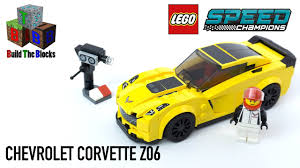 lego speed champions mercedes lego speed champions 75870 chevrolet corvette z06 build the blocks