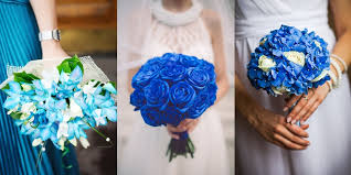 wedding flowers blue wedding flowers a guide to bridal bouquets florists