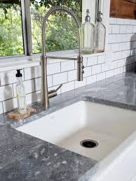 modern square kitchen faucets decor engaging hgtv kitchen with fresh modern style for beautiful