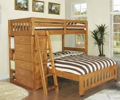 discovery world furniture honey twin full loft bed model 2105
