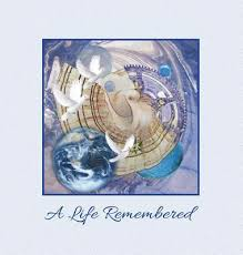 memorial service guest books a remembered funeral guest book memorial guest book