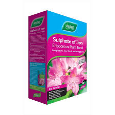 sulphate of iron soil conditioner feed the garden factory