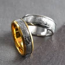 unique wedding rings looking for a unique wedding ring what about one from space