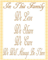 free printable card family quote changing quotes