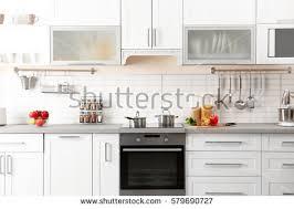 modern kitchen interior modern kitchen interior stock photo 577107964