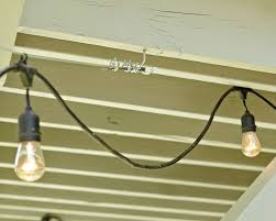 Ceiling String Lights by How To Hang String Lights How To Decorate