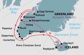 Greenland Map Greenland Tours Travel U0026 Trips Peregrine Adventures Au