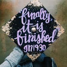 purple graduation cap the best graduation cap ideas for 2017 grads shutterfly