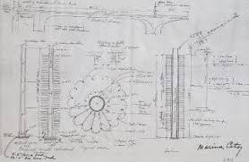 architectural blueprints for sale 36717144 scaled 352x229 jpg 352 229 bertrand goldberg