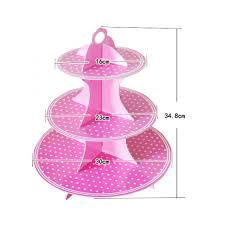 3 tier cupcake stand tier cardboard cupcake stand
