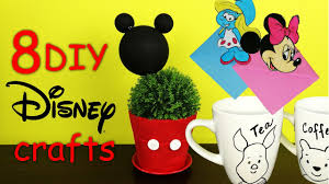 8 diy disney crafts how to 2017 youtube