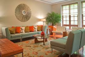 Adding Accent To A Neutral Interior With Color - Adding color to neutral living room