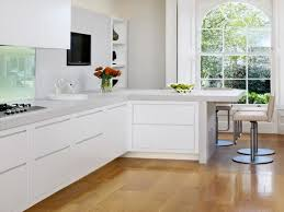 Small White Kitchens Designs Kitchen L Shaped Kitchen Designs With Breakfast Bar As Modern