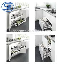 Pull Out Wire Baskets Kitchen Cupboards by Hpj610 Guangzhou Kitchen Storage Basket Wire Kitchen Cabinet Pull