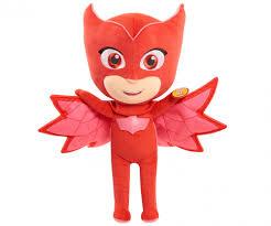 pj masks fiature plush owlette pj masks brands www simbatoys